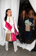 Kyle Richards, Teresa Teresa Giudice and others are seen at Andy Cohen