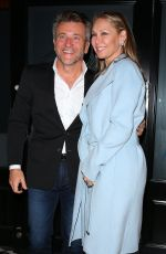 Kym Johnson and Robert Herjavec Arrive at Craig