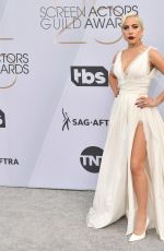 Lady Gaga Arrives for the 25th Annual Screen Actors Guild Awards at the Shrine Auditorium in Los Angeles