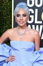 Lady Gaga At 76th Annual Golden Globe Awards in Beverly Hills
