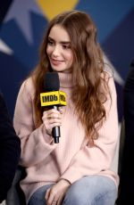 Lily Collins At IMDb Studio At Acura Festival Village On Location at The Sundance Film Festival