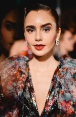 Lily Collins At The Art of Elysium