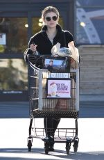 Lucy Hale Outside ralph