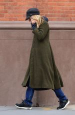 Meg Ryan Bundles up during a solo stroll in NYC