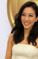 Michelle Kwan At 6th annual gold meets golden party held in West Hollywood
