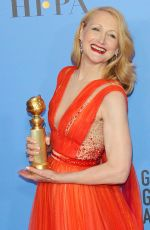 Patricia Clarkson At 76th Annual Golden Globe Awards at The Beverly Hilton Hotel in Beverly Hills