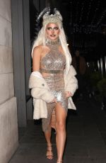 Pixie Lott Celebrates her birthday with friends in London