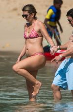 Rhea Durham At the beach while on holiday in Barbados