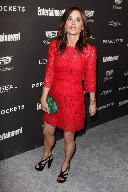 Robin Tunney At Entertainment Weekly Pre-SAG Party in LA