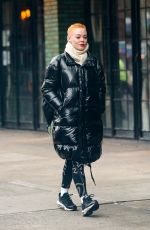 Rose McGowan Arriving at The Bowery Hotel in the Big Apple