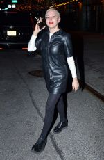 Rose McGowan Out in NYC