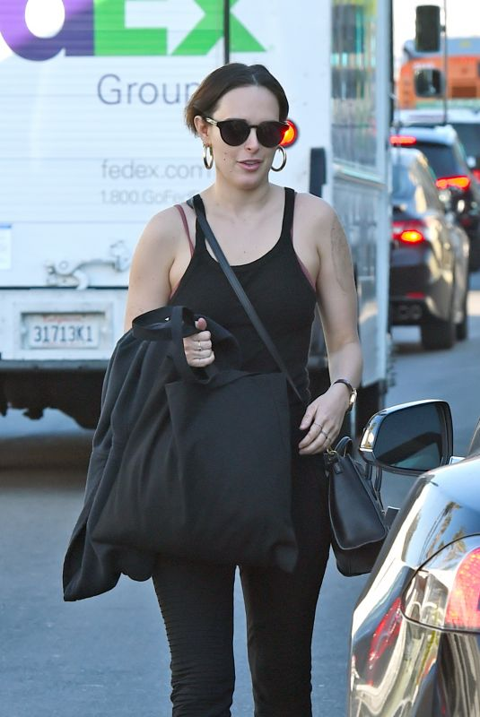 Rumer Willis Out in Los Angeles