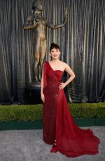 Sandra Oh Arrives for the 25th Annual Screen Actors Guild Awards at the Shrine Auditorium in Los Angeles