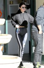 Selena Gomez Outside a gym in LA