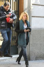 Shakira Spotted in Barcelona