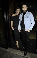 Sophie Austin At Faye Brookes and Gareth Gates engagement party at Hotel Gotham in Manchester City Centre