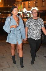 Sophie Kasaei, Holly Hagan and Abbie Holborn hit the Toon