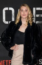 Sophie Nelisse At Close Special Screening in London