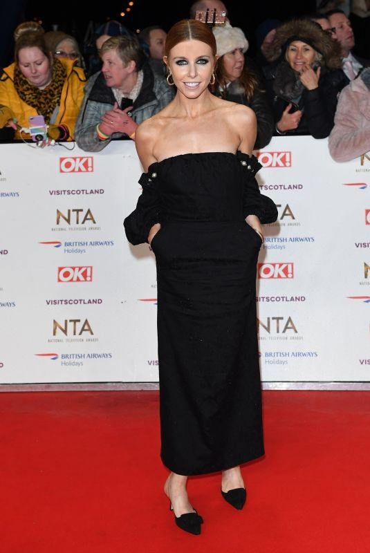 Stacey Dooley At National Television Awards 2019 in London