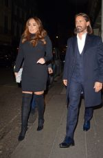 Tamara Ecclestone and Jay Rutland at The Arts Club in Mayfair