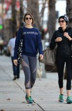 Teri Hatcher & Emerson Rose Tenney out in LA