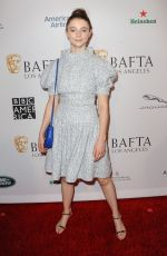 Thomasin McKenzie At 2019 BAFTA Tea Party, Los Angeles