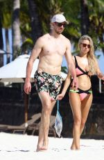 Una Healy On vacation in Mauritius