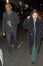 Vanessa White On a night out in London