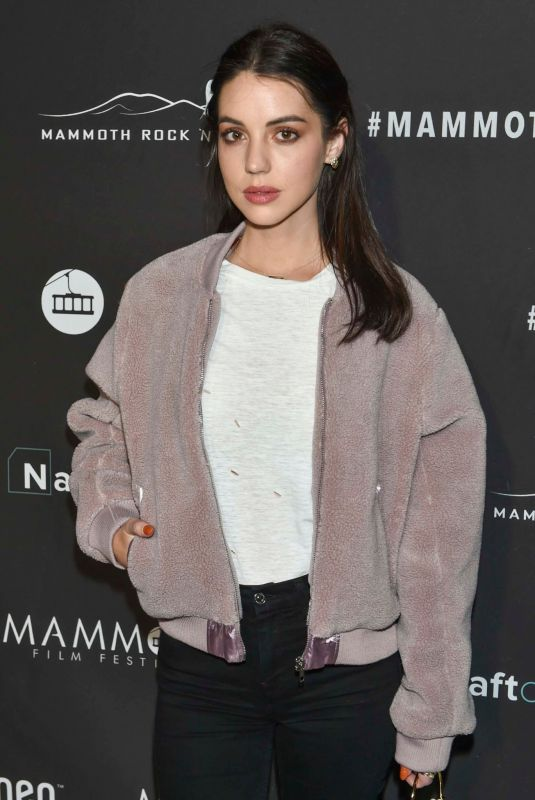 Adelaide Kane At 2nd Annual Mammoth Film Festival in Mammoth Lakes