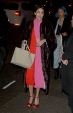 Alexa Chung At the Marks Club in London