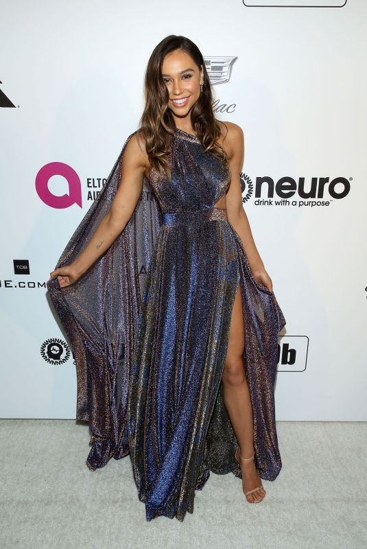 Alexis Ren At 27th Annual Elton John AIDS Foundation Academy Awards Viewing Party in West Hollywood