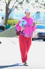Alice Eve Leaving the gym in LA