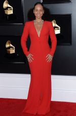 Alicia Keys At 61st Annual Grammy Awards in LA
