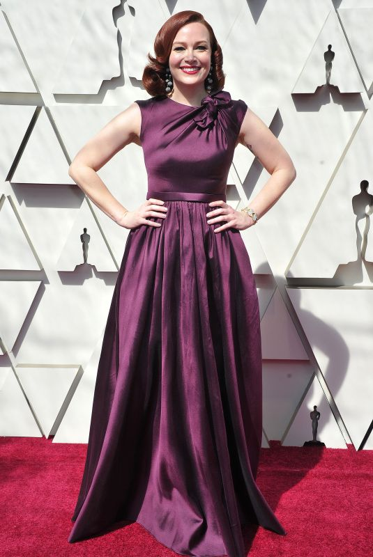 Alicia Malone At 91st Academy Awards Los Angeles