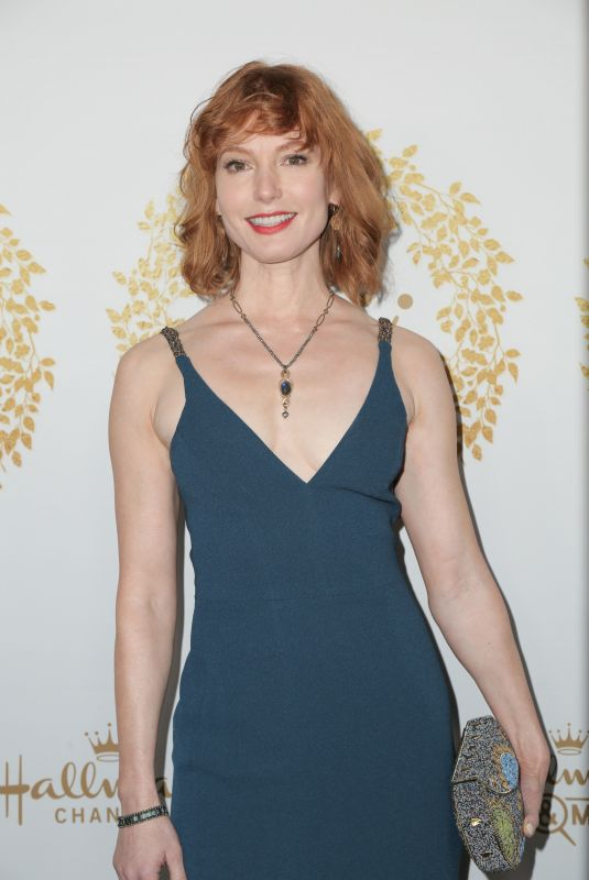 Alicia Witt At Hallmark Channel & Hallmark Movies & Mysteries 2019 Winter TCA Tour in Pasadena