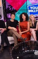 Alisha Wainwright At Young Hollywood Studio in LA