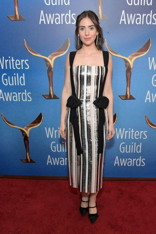 Alison Brie At Writers Guild Awards in LA