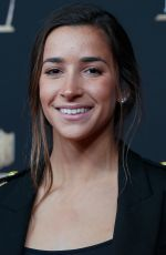 Aly Raisman At NFL Honors in Atlanta