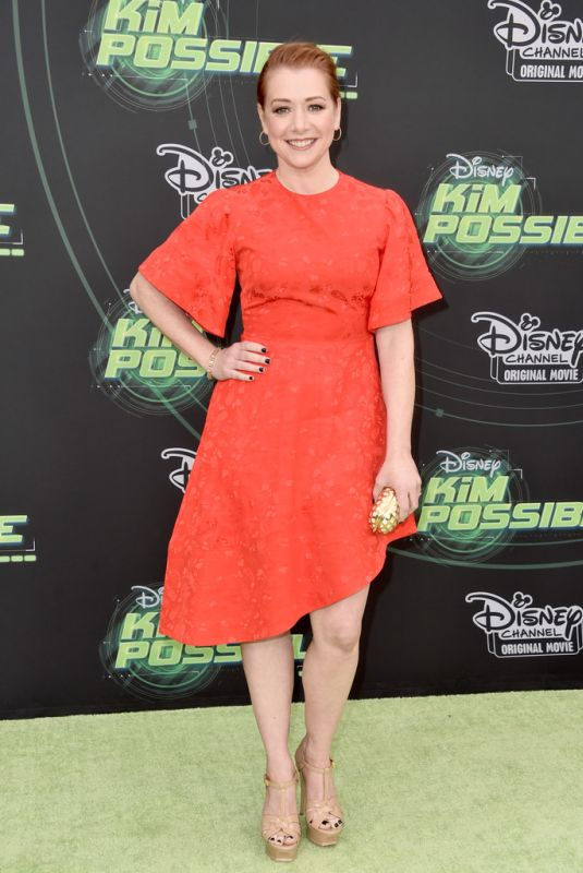 Alyson Hannigan At Disney Channel