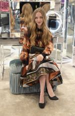 Amanda Seyfried, Emma Roberts At FENDI Celebrates the Baguette in NYC