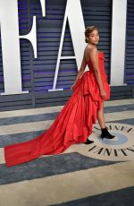 Amandla Stenberg At Vanity Fair Oscar Party at Wallis Annenberg Center for the Performing Arts in Beverly Hills