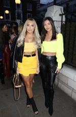 Amber Turner Arrive for an event at Bluebird Cafe at Kings Road, Chelsea
