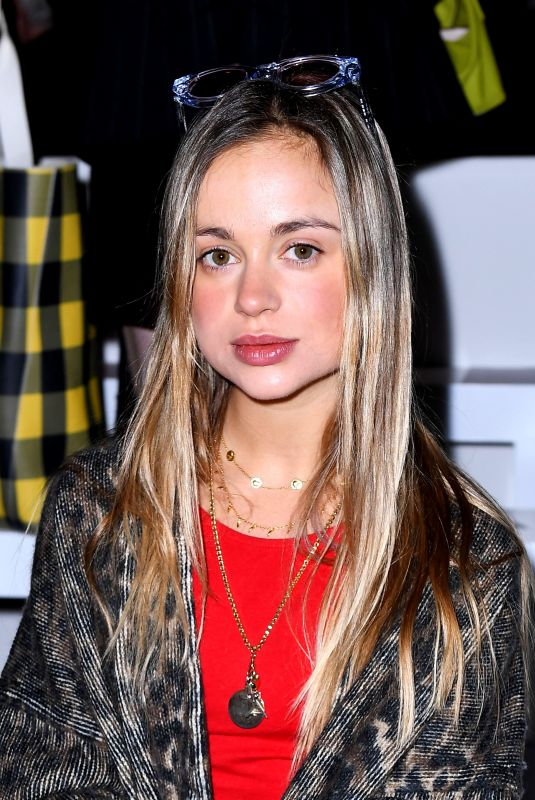 Amelia Windsor At Matty Bovan Show, Front Row, Fall Winter 2019, London Fashion Week
