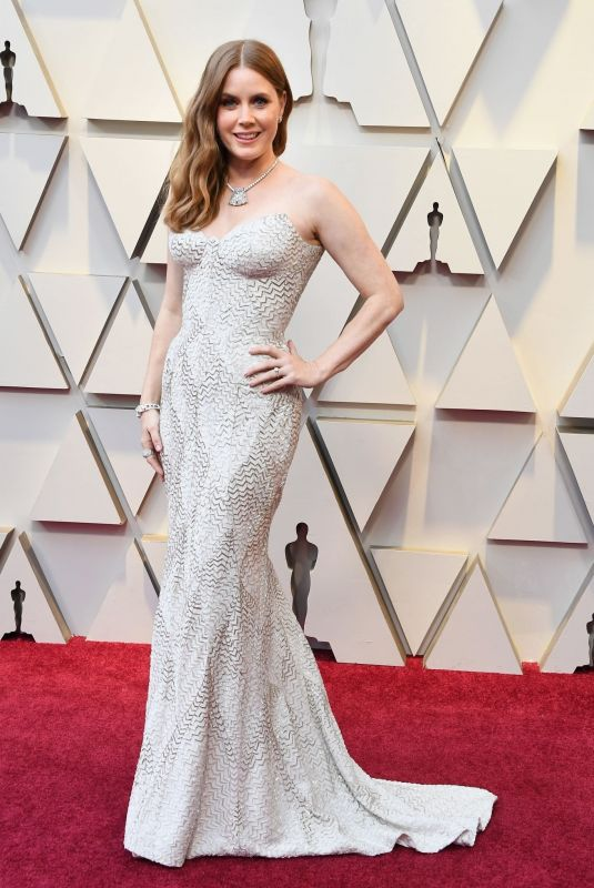 Amy Adams At 91st Annual Academy Awards in Los Angeles