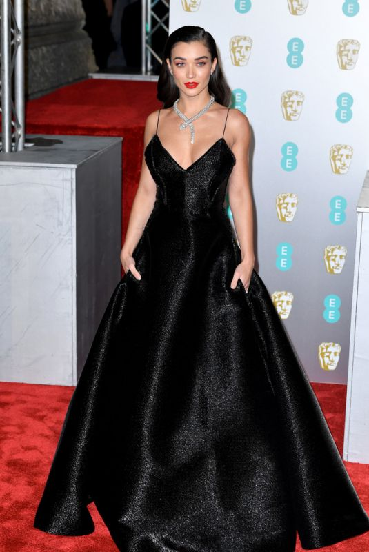 Amy Jackson At EE British Academy Film Awards in London