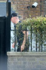 Anna Friel Spotted with Regimental Corporal Major Mark Jaworski near her home in Windsor