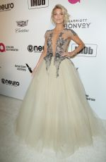 AnnaLynne McCord At Elton John AIDS Foundation Academy Awards Viewing Party in Hollywood