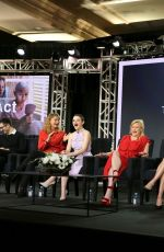 AnnaSophia Robb & Joey King At Hulu Panel during the Winter TCA in Pasadena