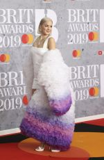 Anne-Marie At 39th Brit Awards at The O2 Arena in London