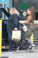 Ariana Grande Does some grocery shopping at Whole Foods in West Hollywood